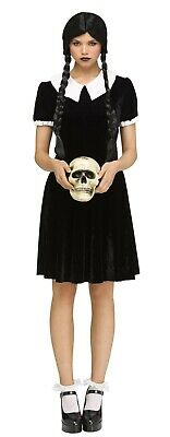 Fun World - Gothic Girl - Adult Costume - Wednesday Addams