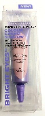 ALMAY BRIGHT EYES COLOUR CREAM SHADOW BRIGHT EYE SHADOW CONCEALER PINK GLOW  - Almay Bright Eyes