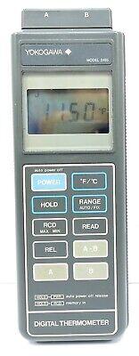 Yokogawa 2455 Digital Micro Precision Thermometer