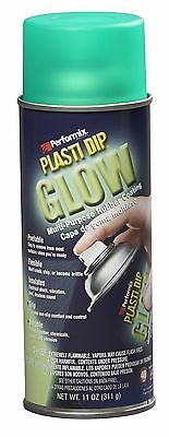 Performix 11257 Plasti Dip Glow Aerosol Spray 11 Oz Green