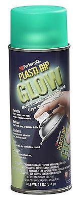 Performix 11257 Plasti Dip Glow Aerosol Spray 11 Oz Green