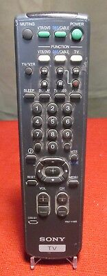 SONY RM-Y165 REMOTE CONTROL for Television TV