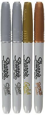 Sharpie - Fine Point Metallic Permanent Markers - Silvergoldbronze 1-pack ...