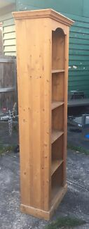 Solid pine bookshelves