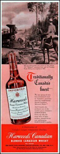 1949 RCMP Canadian mountie Harwood