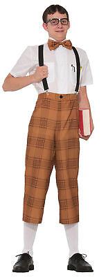 Mr. Nerd Adult Mens Costume Standard Size NEW ](Mr Nerd)