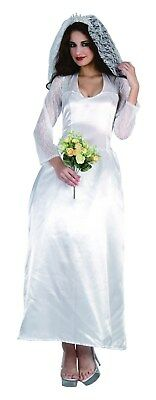 Royal Family Costumes (Womens Royal Family Bride Fancy Dress One Size Costume)