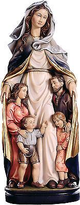 Madonna Protecting Della Famiglia Cm 20