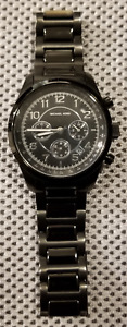 Michael Kors watch Runway Noire - Black