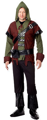 Robin Hood Herren Kostüm Mittelalter Bogenschütze Karneval - Alte Robin Kostüm