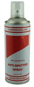 Anti-Spatter Spray single aerosol can welding Mig