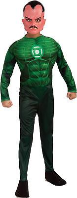 Green Lantern Sinestro Muscle Child Costume Boys Kid Movie Theme Party Halloween - Sinestro Costume