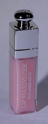 Dior Addict Lip Maximizer .06 Oz/2ml 001 Pink Collagen ACTIVE Sample Dior Lip Maximizer