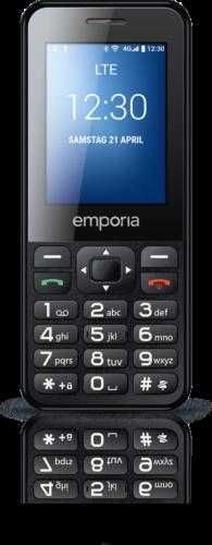 emporiaTALKsmart 4GB Schwarz 5MP Kamera LTE