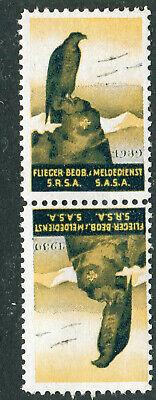 Switzerland Soldier Stamp Flieger Beobachter Aircraft Spotter #3a Soldaten  10