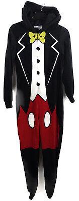 Disney Womens Mickey Mouse Pajamas Halloween Costume Sleeper Bodysuit - Halloween Pajamas Womens