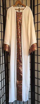 Biblical Wisemen Arabian Sheik Costume Adult Passion play Gown-OSFM TO 44