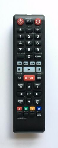 New Usbrmt Remote Ak59-00166a For Samsung Blu-ray Player Bd-fm59 Bd-fm59c Bd-f59