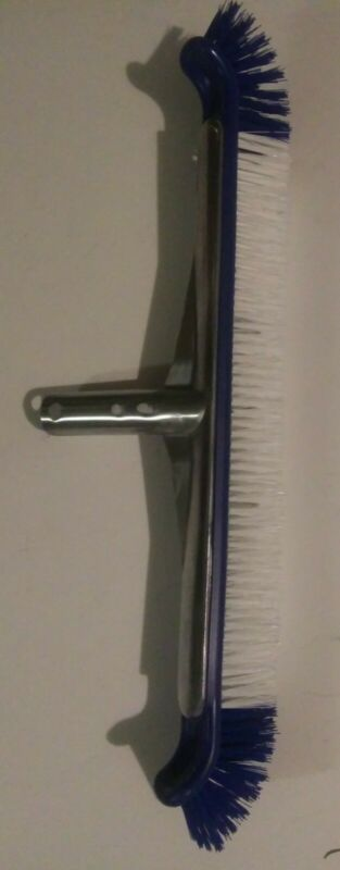 """20""""  Pool Brush Heavy Duty Extra Wide EZ Clip for Pool Floor & Wall"""