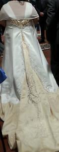 Designer Plus Size Wedding Gown