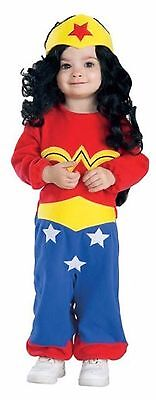 Wonder Woman Superhero  Romper Costume Infant Newborn 0-6 Months        N12