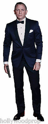 DANIEL CRAIG JAMES BOND 007 LIFESIZE STANDUP STANDEE CUTOUT POSTER FIGURE PROP