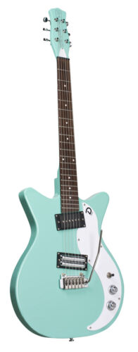 Danelectro DC59XT Dano 59 AQUA Double Cutaway Electric Guitar with Tremolo Arm