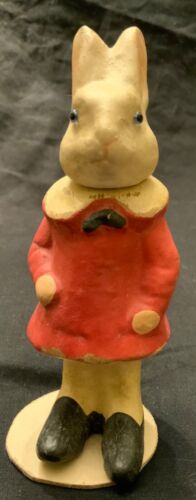 COMPOSITION RABBIT GIRL CANDY COMTAINER - GERMAN REPRODUCTION