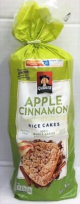 Quaker Apple Cinnamon Gluten Free Rice Cakes 6.53 - Apple Cinnamon Rice Cake