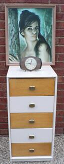 Chest of Drawers Bedside Table Retro Vintage by Alrob c 1960's