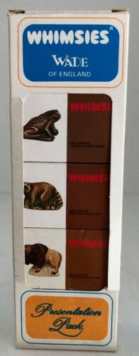 OLD WADE WHIMSIES (ENGLAND) - BOXED SET OF 5 - IN MINT / NEW CONDITION set 4/10