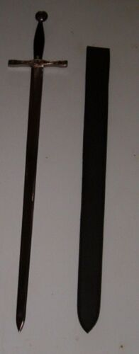 """LARGE  40"""" MEDIEVAL KINGS SWORD WITH SHEATH , KNIGHT"""