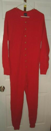 Vintage Duofold RED Cotton Wool Thermal Long Johns Men