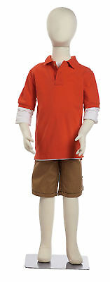 Bendable 7 Year Old Kids Child Mannequin Boy Girl Unisex Form Kid 47 Tall