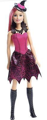 Barbie Halloween Witch Doll