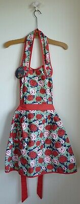 Retro Doris styled apron. Vintage Rose design. New with tags. No package