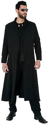 Mantel Mad Max Schwarz Vampir Gothic Halloween Karneval Fasching Kostüm 44-62 (Halloween-kostüm Schwarzer Mantel)