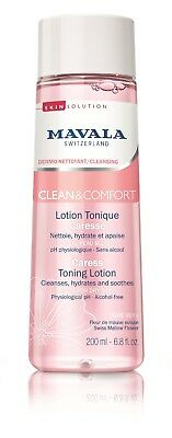 MAVALA FOR DRY FACIAL SKIN + FREE MINI NAIL POLISH CLEAN TONING LOTION TONER ()