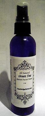 Green Tea Herbal Facial Toner, Natural, 4 fl oz