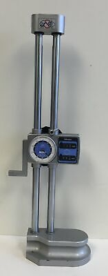 Mitutoyo 192-106 Dial Height Gage With Digital Counter 0-300mm Range 0.01mm