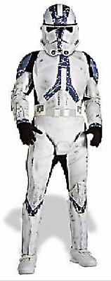 Star Wars Clone Trooper Deluxe Child Costume (Star Wars Deluxe Clone Storm TROOPER Costume Size 7-8-10 Med New Child 5-7)