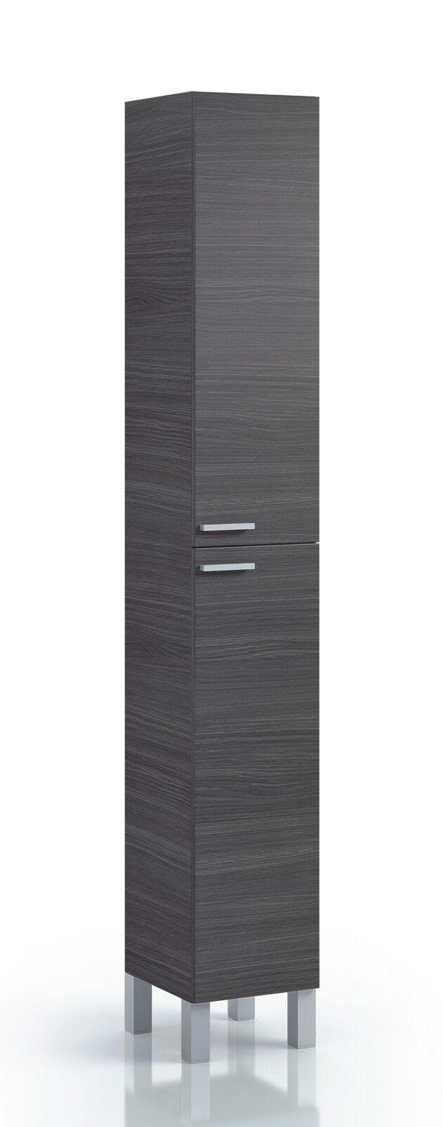 Koncept Tall Narrow Bathroom Cupboard Storage Cabinet soft ...