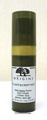 Origins Plantscription Power Eye Cream 5ml - NEW