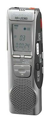 Used, Panasonic RR-US360 Handheld Digital MP3 Voice Player Recorder Duel Recording for sale  Shipping to India