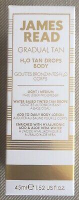James Read - Gradual Tan H2O Tan Drops Body - Light/Medium - 45ml