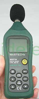 Professional Digital Sound Level Meter Ms6708 Anallog Bar 30 To 130db Backlight