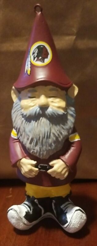 Washington Redskins Ornament Gnome