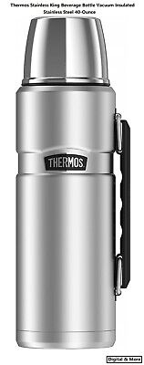 Thermos Stainless King Beverage Bottle Vacuum Insulated Stainless Steel -