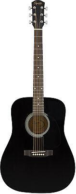 Fender Squier Dreadnought Acoustic Guitar - Black