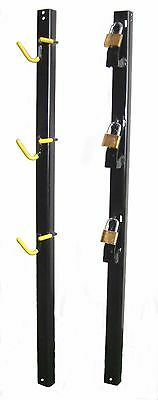 TG2000 Trimmer Rack Holds 3 Three Locks included for Trailer